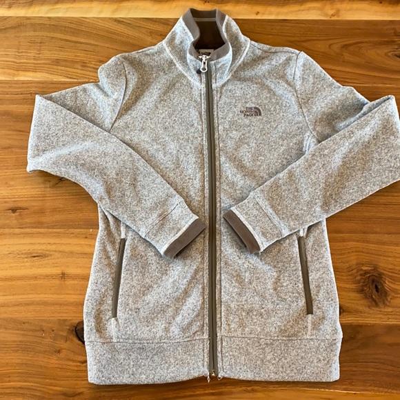 North Face Zipper Jacket